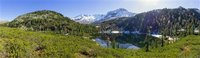 See in den Bergen im Salzburger Land
