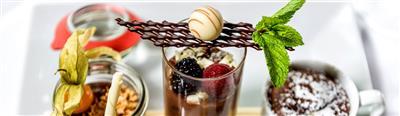 Three types of desserts