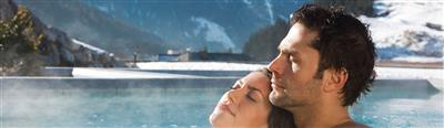 Couple relaxes in the thermal bath